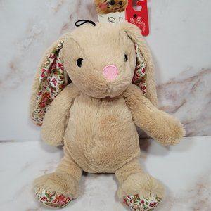 Petlou Plush Bunny Rabbit Squeaky Dog Toy